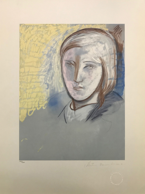 Pablo Picasso, 'PORTRAIT OF MARIE-THERESE WALTER', 1979-1982, Reproduction, LITHOGRAPH ON ARCHES PAPER, Gallery Art