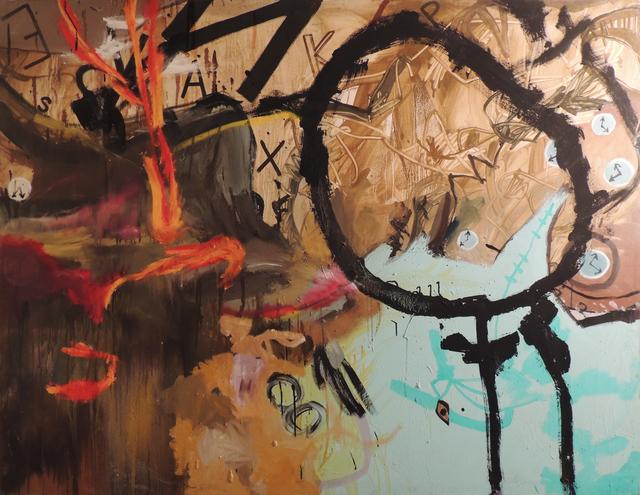 , 'Days, letters and hours (Los días, las letras, las horas),' ca. 1990, Gaudifond Arte