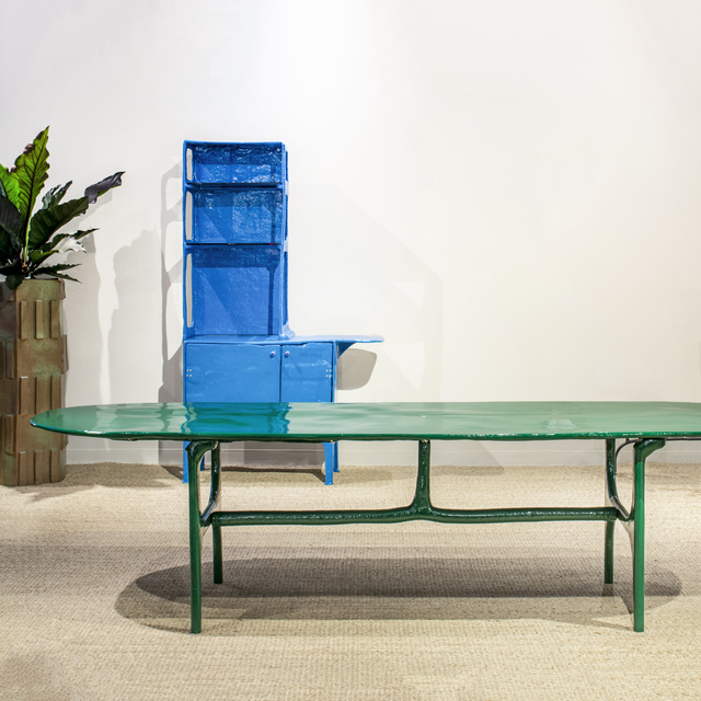 Matthew Day Jackson, 'Emerald Dining Table ', 2019, The Future Perfect