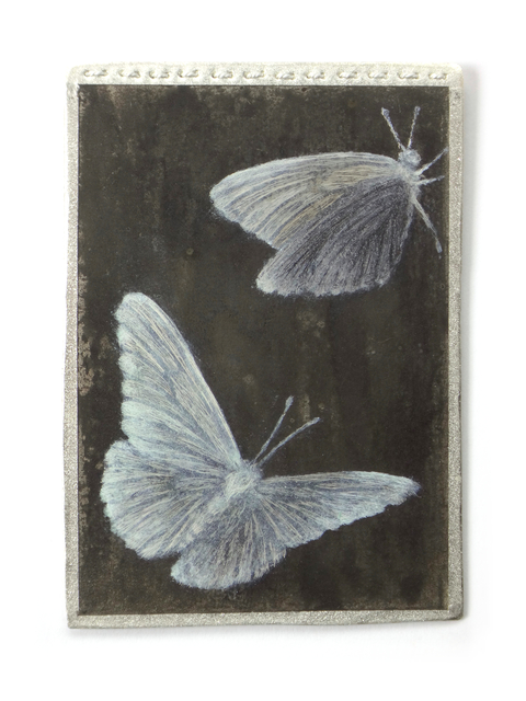 , 'Black and White Butterfly Brooch I,' 2016, Jewelers'Werk Galerie