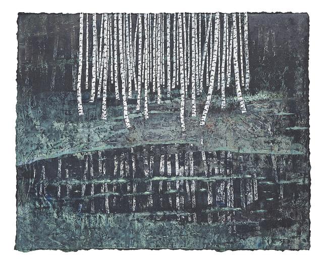 , 'Nocturne, reflets,' 2019, Le Salon Vert