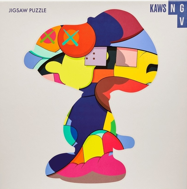 KAWS, 'No Ones Home (Puzzle)', 2019, Other, Completed 1000 piece jigsaw puzzle, Tate Ward Auctions