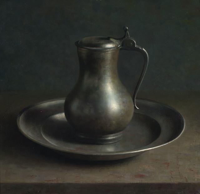 , 'Pewter plate,' 1982, Artvera's Art Gallery
