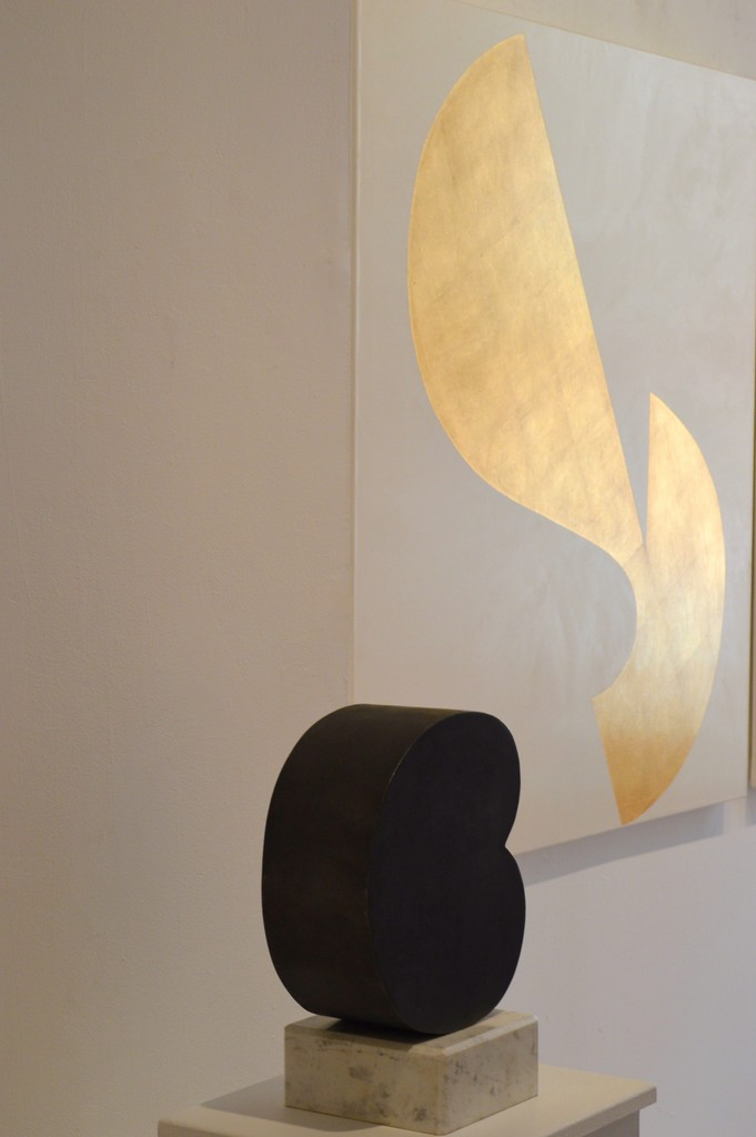 'Cambio' (iron,marble, 38 x 30 x15 cm) 