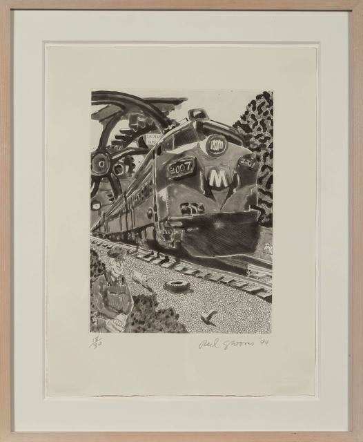 Red Grooms, 'Train 2007 (Knestrick 152)', 1994, Doyle