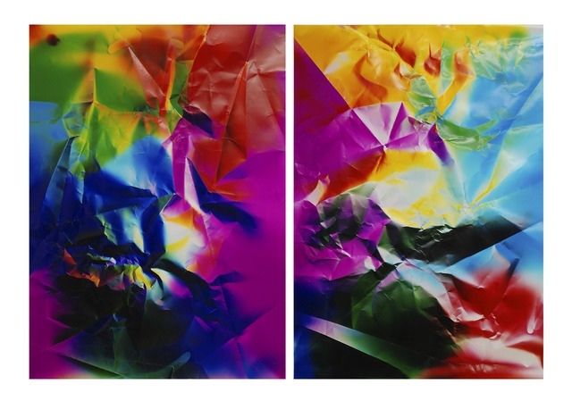, 'Dings and Shadows (diptych),' 2015, JHB Gallery