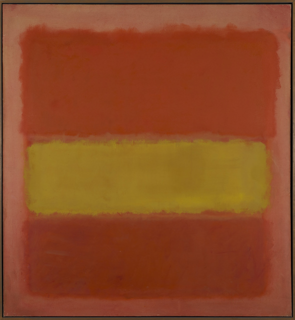 , 'Yellow Band,' 1956, Guggenheim Museum Bilbao