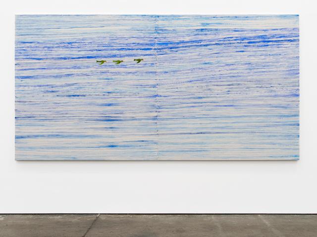 , 'Serenity Painting No. 2 (Birds, Sky),' 2018, Altman Siegel