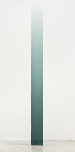 , '4/18/14 (Grey Green Wedge),' 2014, Peter Blake Gallery