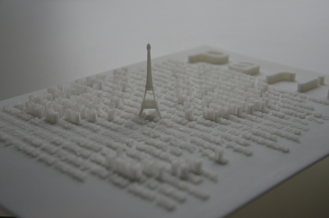 , 'Textscapes (Paris),' 2018, re.riddle