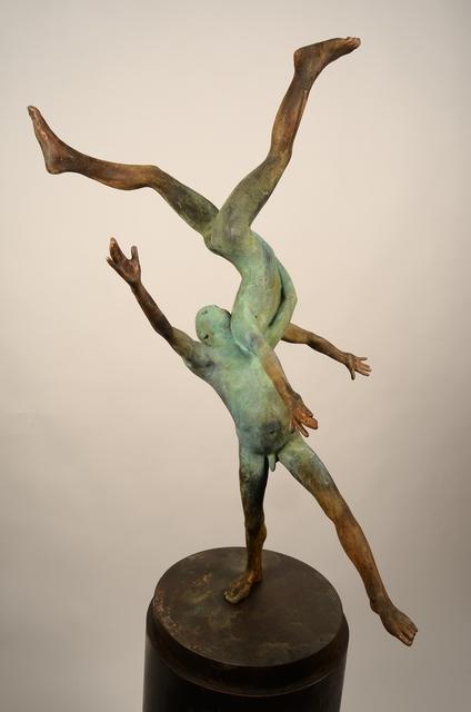 Jesús Curiá, 'Pugnatum II', 2019, Sculpture, Bronze, Anquins Galeria