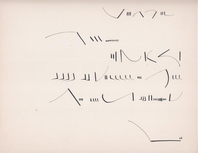 , 'Sin título. Carta,' 1970, Henrique Faria Fine Art