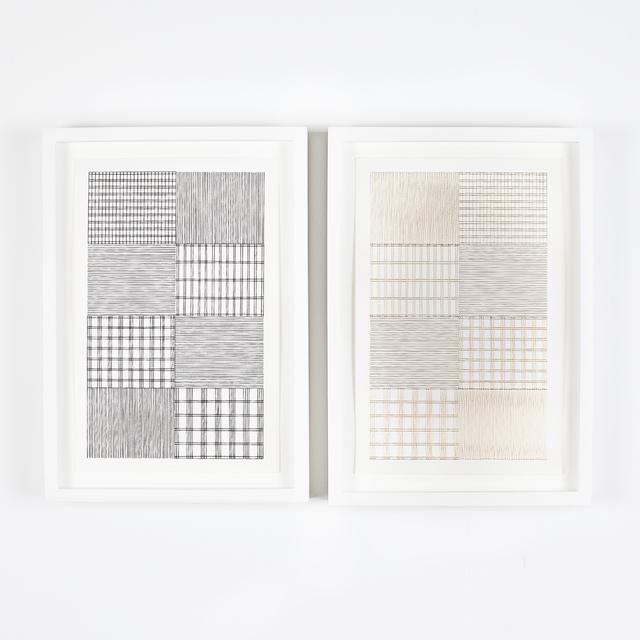 Abdolreza Aminlari, 'Untitled (diptych)', 2015, Independent Curators International (ICI) Benefit Auction