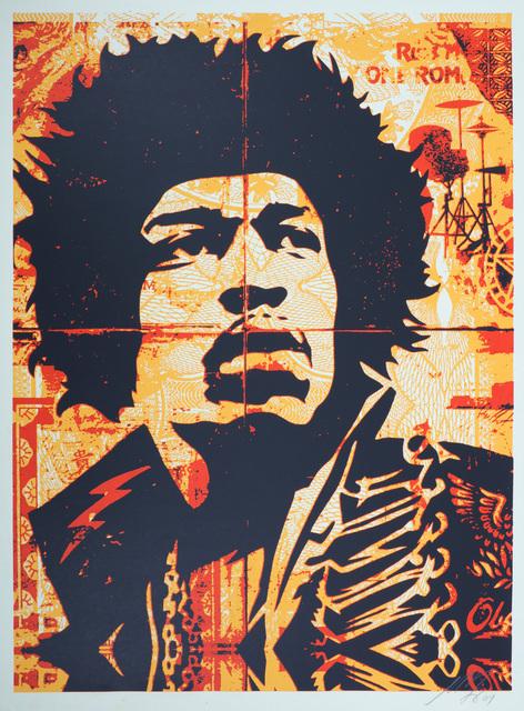 Shepard Fairey, 'Hendrix', 2007, Chiswick Auctions