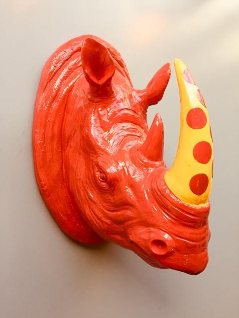 , 'Rhino Heads,' 2017, GO Gallery