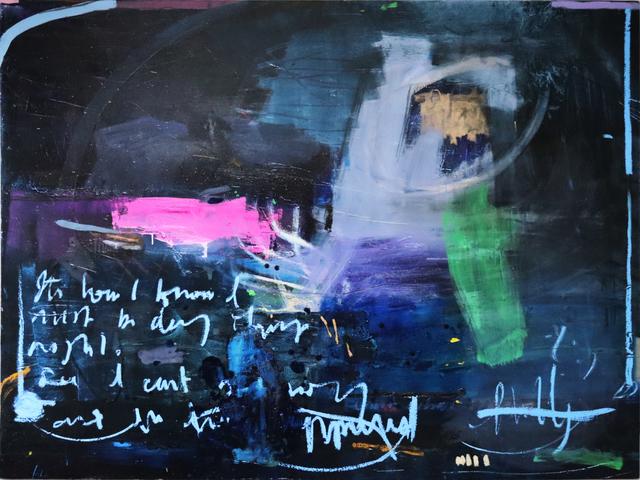 Richard Hearns, 'Indigo (ocean)', 2020, Painting, Oil on canvas, Cadogan Contemporary