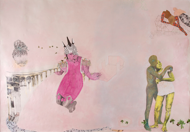 Ruby Onyinyechi Amanze, 'there is abundance', Drawing, Collage or other Work on Paper, Ink, graphite, photo transfers and coloured pencil on paper, Strauss & Co