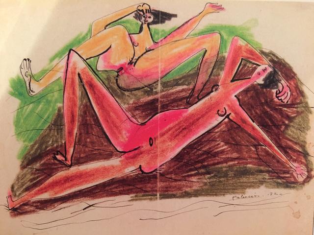 , 'Composición surrealista,' 1932, N2 Galería