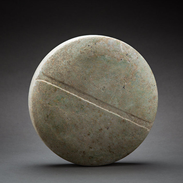 Unknown Bactrian, 'Bactria-Margiana Stone Disc Idol', 3000 BC to 1500 BC, Barakat Gallery