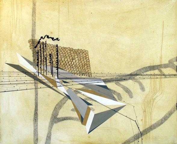 , 'Yellow Scape,' 2007, Heather Gaudio Fine Art