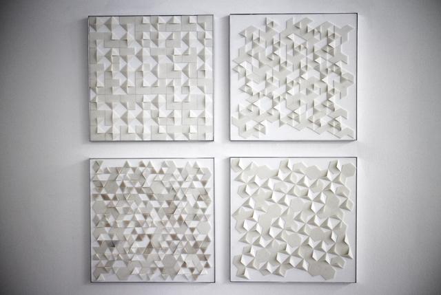 , '3D Printed form studies,' 2014, Muriel Guépin Gallery