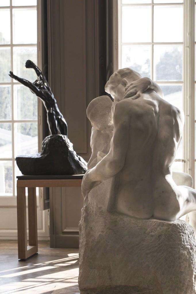 Musée Rodin 2015, Auguste Rodin, L'Enfant prodigue et Le Baiser © agence photographique du musée Rodin, J. Manoukian