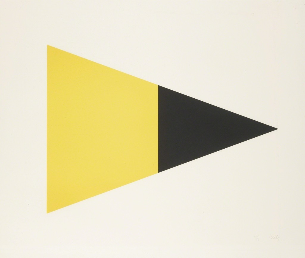 Ellsworth Kelly   Black Brown; and Black Yellow (A. 79 and 83) (1970 ...