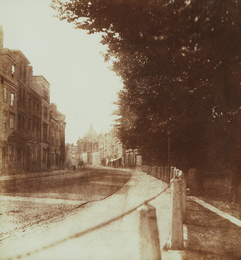 William Henry Fox Talbot, 'Oxford High Street,' 1843, Phillips: The Odyssey of Collecting