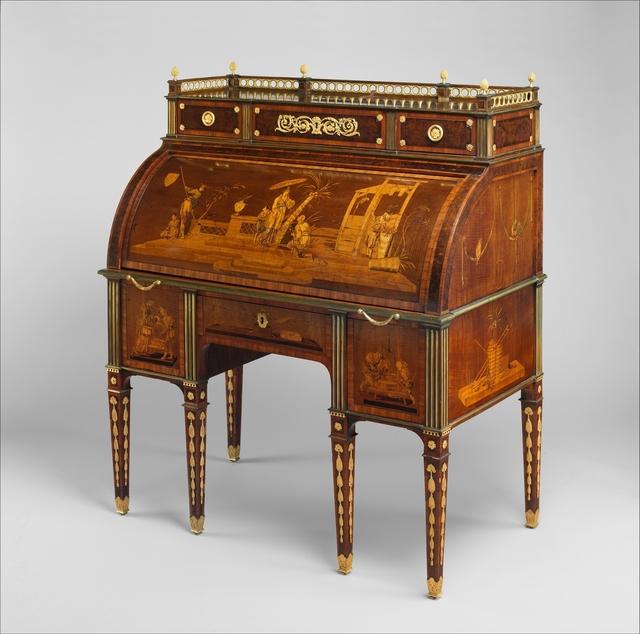 David Roentgen, 'Rolltop desk', ca. 1776–1779, The Metropolitan Museum of Art