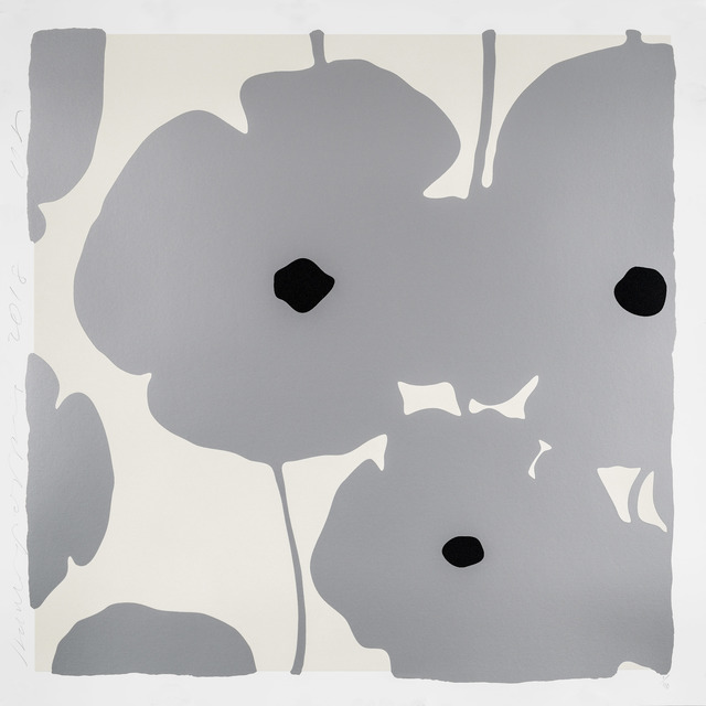 , 'Silver Poppies,' 2018, Maune Contemporary