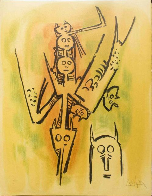 ", 'Laissez-moi l'enjamber - from the suite ""Pleni Luna"",' 1974, Wallector"