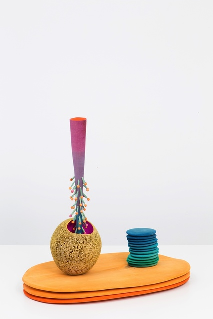 Matthew Ronay, 'Pore Bearer And A Space/Duration Column', 2015, Marc Foxx Gallery