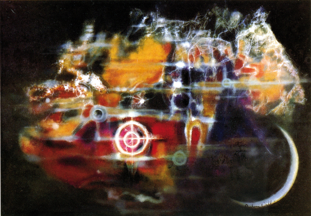 , 'Nebulic Cluster(cosmos series),' 1985, October Gallery