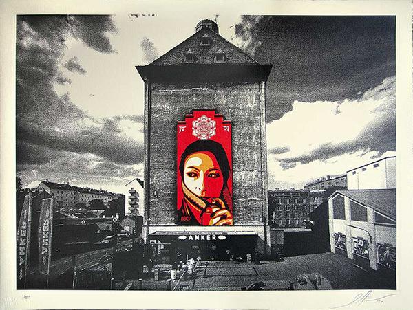 Shepard Fairey (OBEY), 'COMMANDA MURAL', 2013, Marcel Katz Art