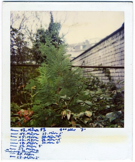 , 'untitled, 13.03.1993,' 1993, Blain | Southern