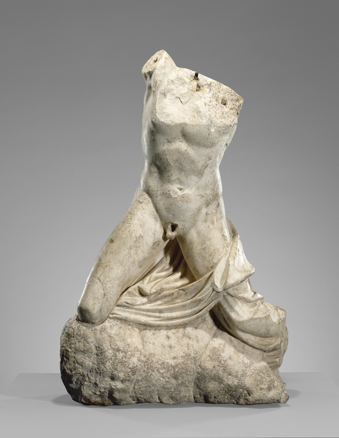 'Statue of a Collapsing Niobid',  1st century, J. Paul Getty Museum