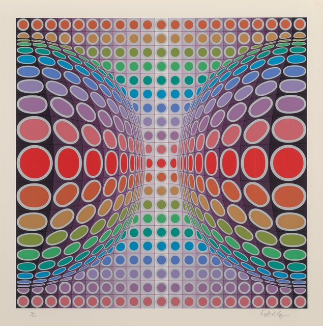 Victor Vasarely, 'Untitled', Print, Screenprint in colors on paper, Heritage Auctions