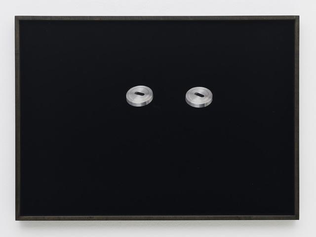 , 'Hardware Store Collage – Bauhaus Keyholes # 1,' 2012, Barbara Wien