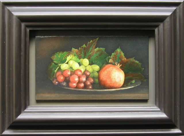 Lucy Mackenzie, 'Pomegranate and Grapes', 2001, Nancy Hoffman Gallery