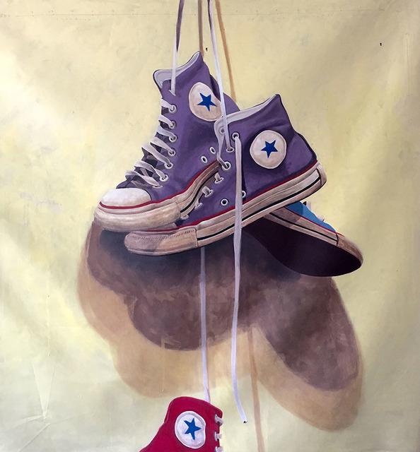 Santiago Garcia, 'Converse #1003', 2018, Painting, Oil and acrylic, CODA Gallery