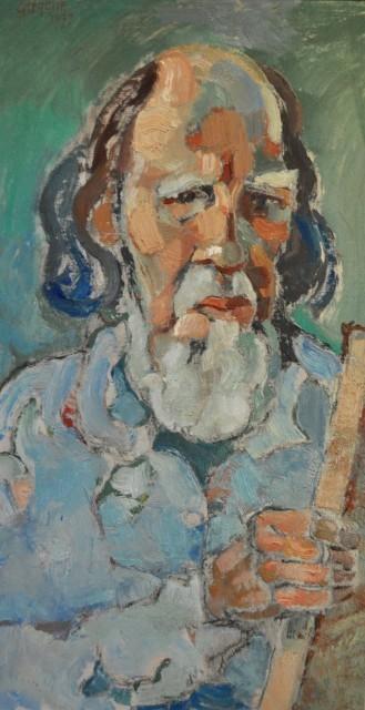 Gregoire Johannes Boonzaier, 'Self Portrait', 1977, Axis Art Gallery