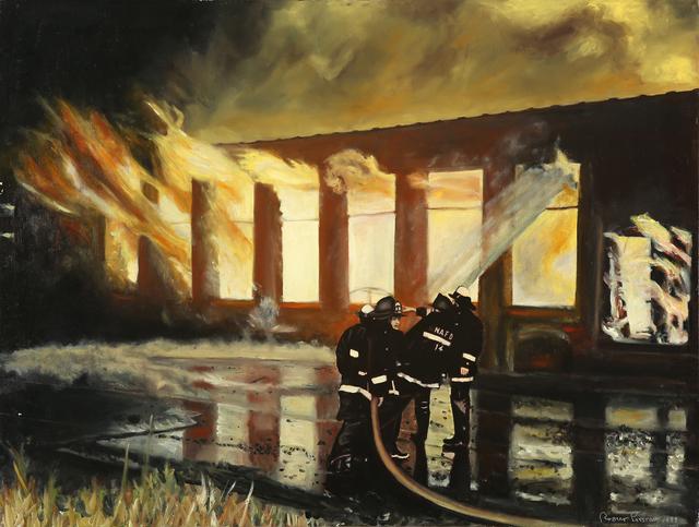 , 'Fire,' 2000, DETOUR Gallery