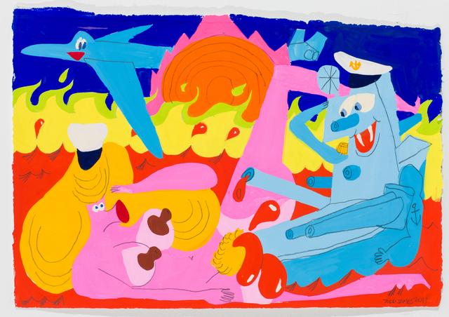 , 'Toot Toot ,' 2017, Javier Lopez & Fer Frances