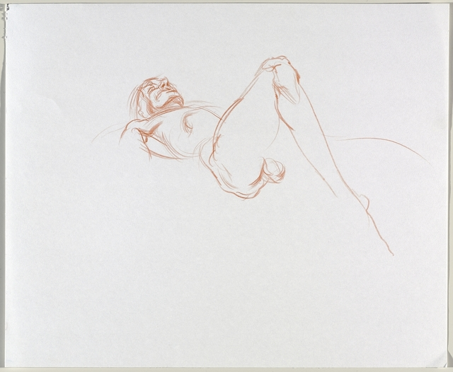 , 'Untitled (Lying pose),' 2016, Brooklyn Museum