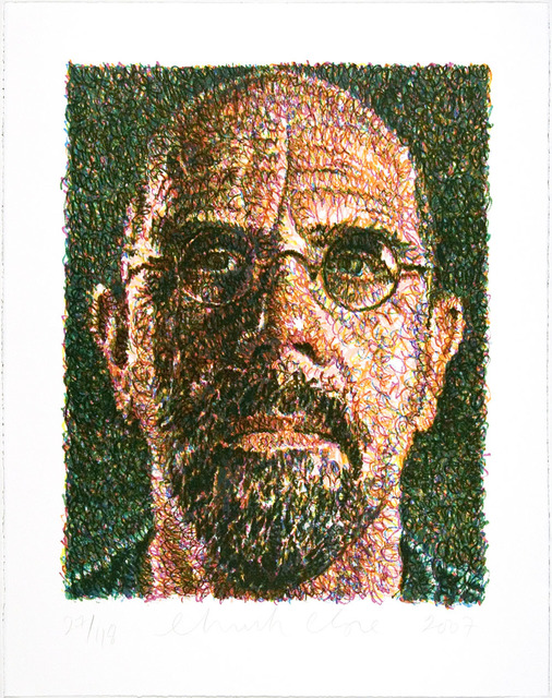 Chuck Close, 'SELF PORTRAIT', 2007, Jerald Melberg Gallery