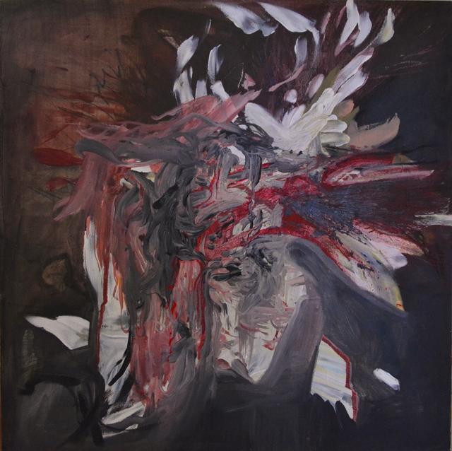 Emma C. Aspeling, 'Fake euphoria', 2019, Painting, Mixed media on board, 99 Loop Gallery