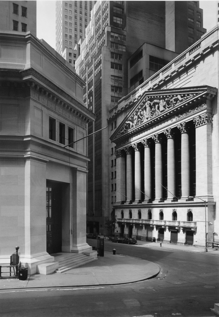 George Tice, 'Wall Street, New York', 1987, Gallery 270