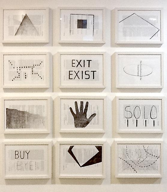 , 'Exit Exist,' 2014, Y Gallery