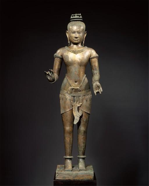 Unknown Cambodian, 'Standing Shiva (?)', 11th century, The Metropolitan Museum of Art