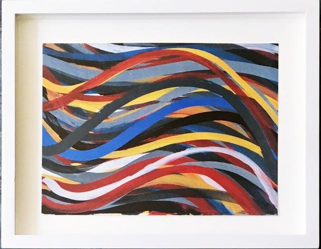 Sol LeWitt, 'Brushstrokes: Horizontal and Vertical, One Horizontal Plate (Cat. Rais: 1996.02, Krakow)', 1996, Alpha 137 Gallery